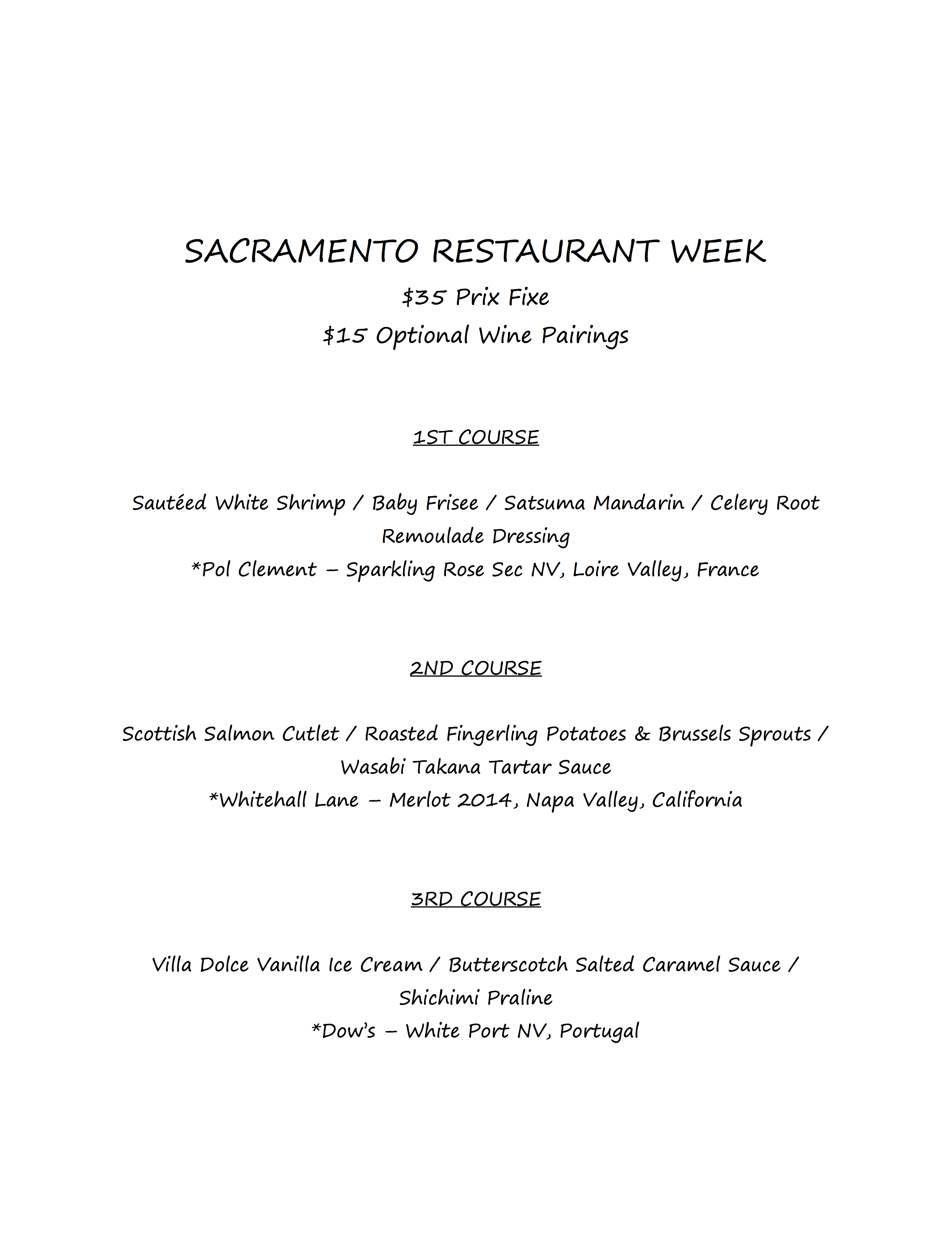 dine downtown restaurant week presented by downtown sacramento